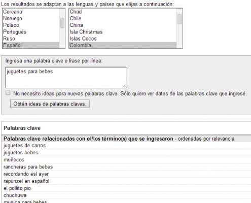 Keyword Research con YouTube