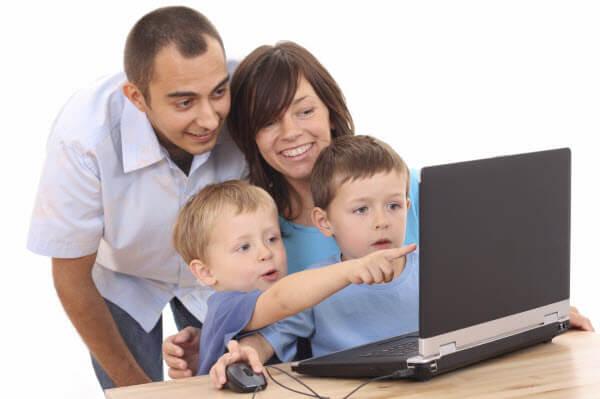uso de internet por los niños